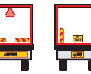 Πινακίδες Σημανσης Φορτηγών
